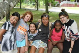 Summer camp usa kids counselor
