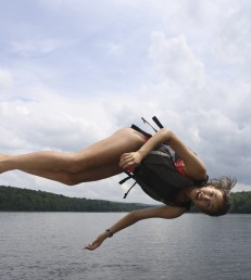 Summer camp usa camp counselor flipping