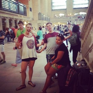 Summer Camp USA Grand Central Friends