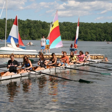 Summer Camp camp counselor Rowing Activities usa