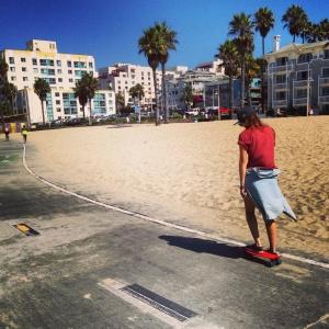 Summer Camp Travel Santa Monica Skateboarding