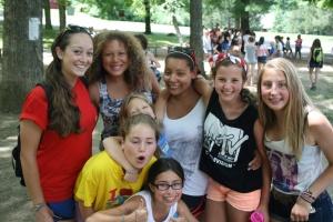 Summer Camp USA play counselors kids