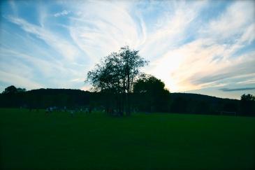 Summer Camp USA sunset