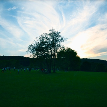 Summer Camp USA sunset