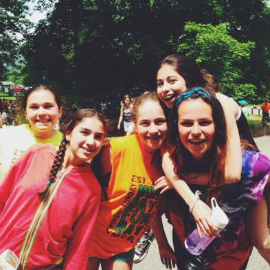 Camp counselor campers summer