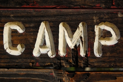 Summer Camp Sign