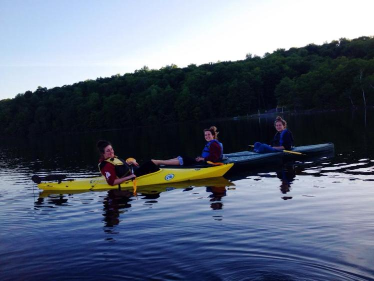 Summer Camp Lake Kayak