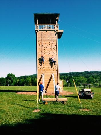 Summer Camp Climbing Tower
