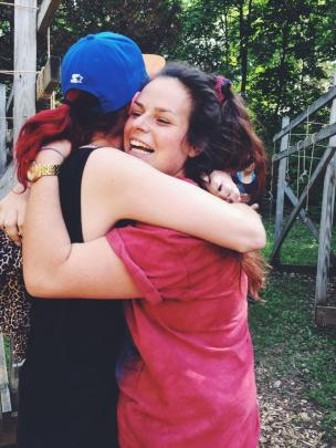 Summer Camp Counselor Hugs
