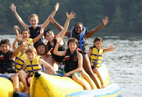 Summer Camp Counselor Banana Boat Children