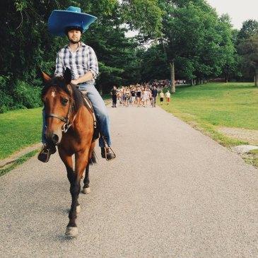 Summer Camp Director Horse Cowboy