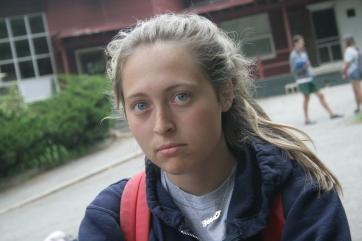 summer camp sad face