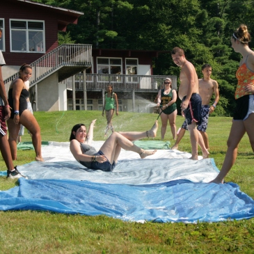 Summer Camp Slipnslide