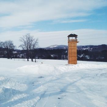 Summer Camp In winter