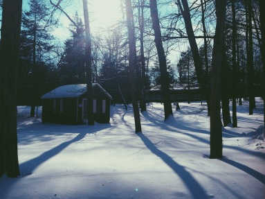 Summer Camp In winter