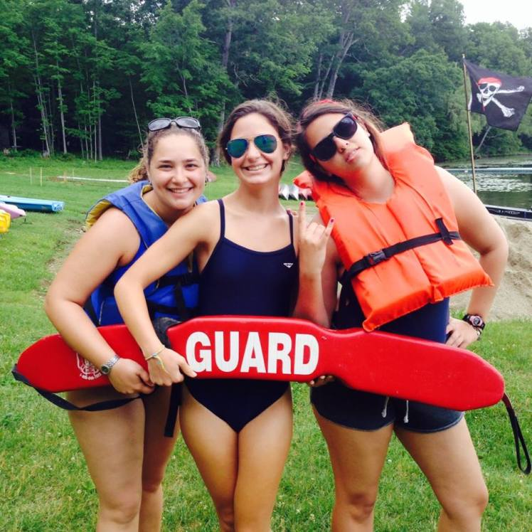 Summer Camp Counselor Lifeguard