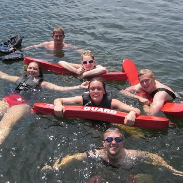 Summer Camp Counselor Swimming Lifeguard Lake