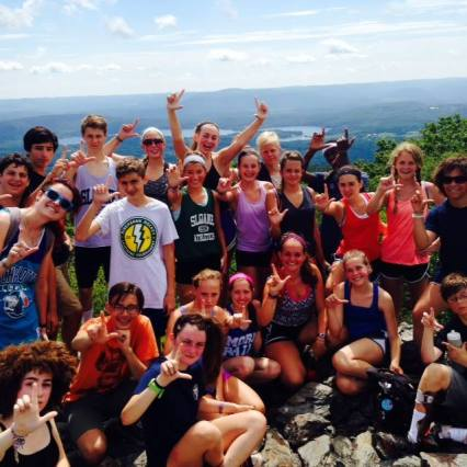 Hike bear mountain summer camp