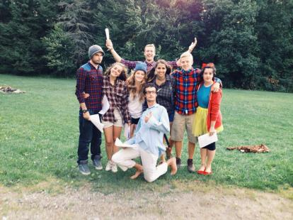 Summer Camp Counselors Dress Up