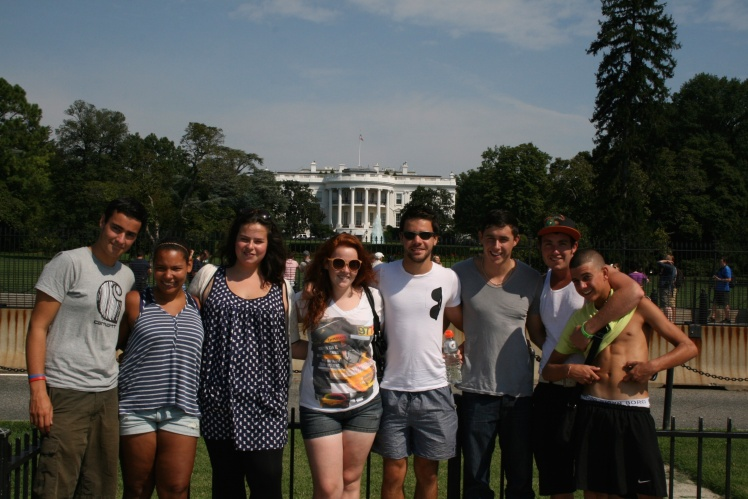 summer camp travel dc whitehouse