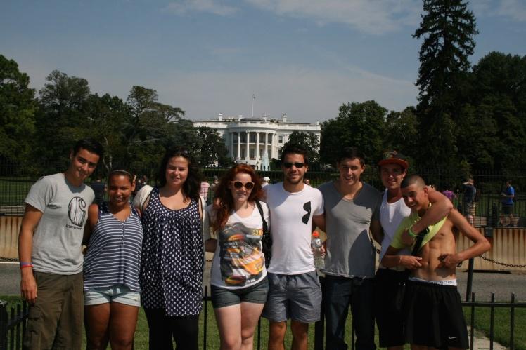 summer camp travel dc whitehouse