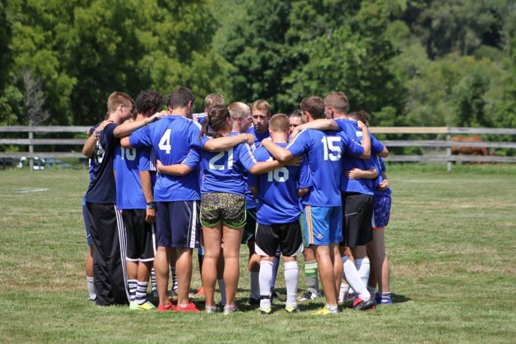 Summer camp teamwork