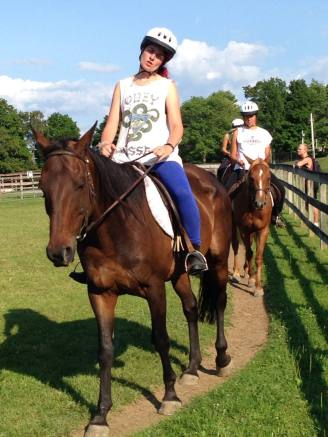 Summer Camp Counselor Horse Riding