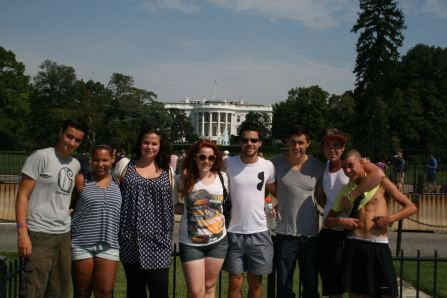 Travelling with friends in DC