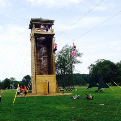 Summer Camp Zip line