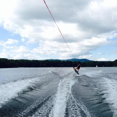 Wakeboarding waterskiing summer camp