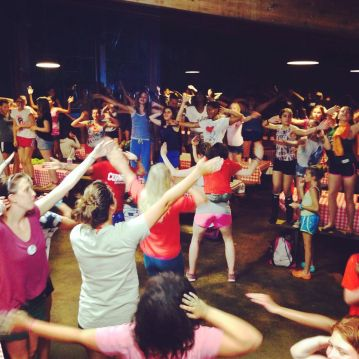 Summer Camp Dining Hall Dance