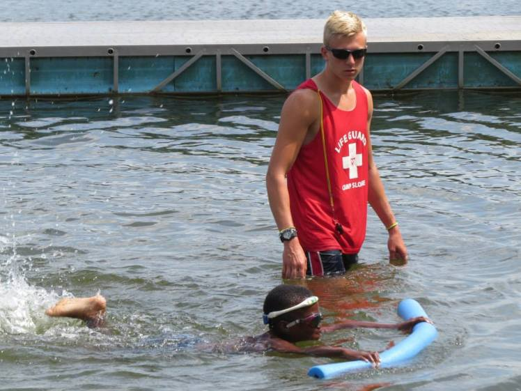 summer camp swimming lessons