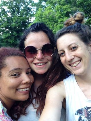 Summer camp friends