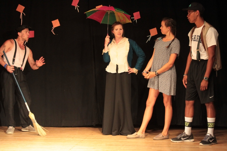 Summer Camp Performance Mary Poppins
