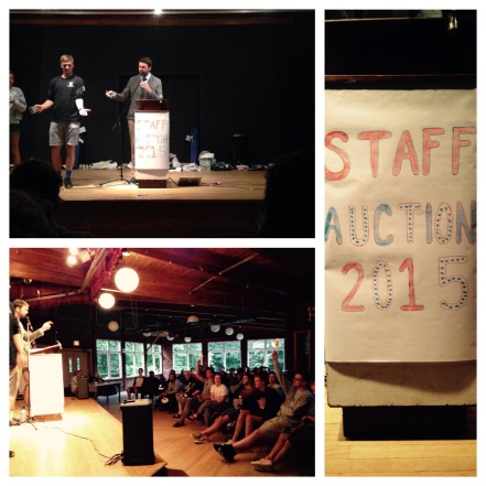 Summer Camp Staff Auction