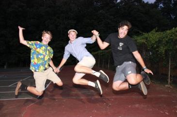 summer camp jump