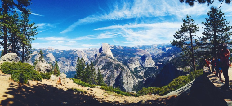 Glacier Point, Yosemite, USA, Road trip