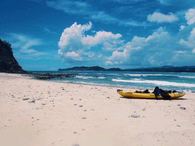 Costa Rica Samara Island Kayak Sunshine
