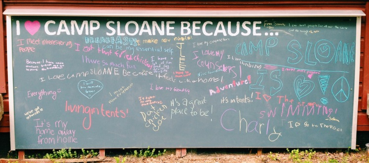 I love Camp Sloane because...