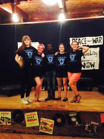 Summer Camp counselor performing arts