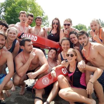 Summer Camp counselor lifeguard
