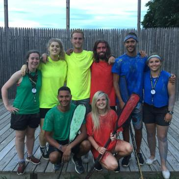 Summer Camp Color War