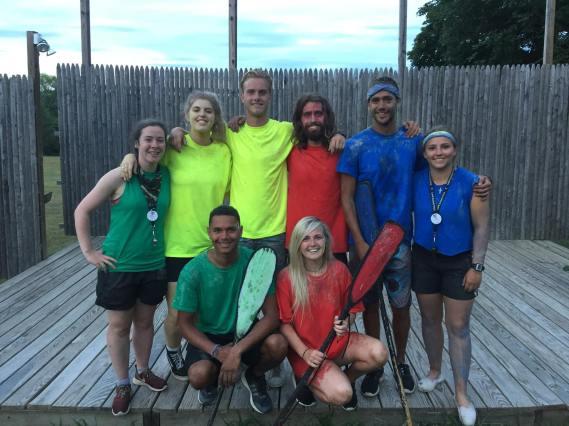 Summer Camp Color War