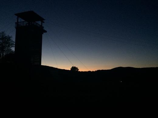 Summer sunset usa
