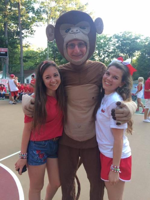 summer camp counsellor fun
