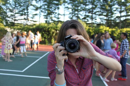 summer camp counselor photographer