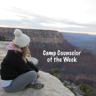 Counselor of the week summer camp