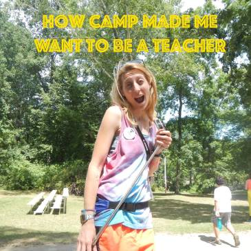 Summer camp counselor teacher