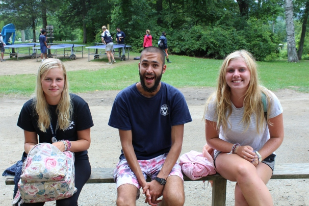 Summer camp counselor USA