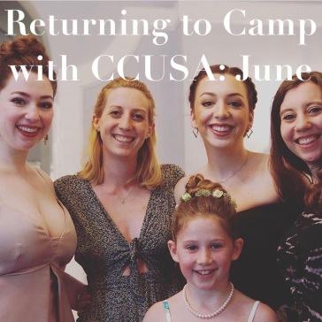 Returning to camp CCUSA